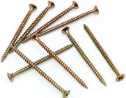 Metal Chipboard Flooring Screws , Flat  Csk Self Tapping Screw ST2.5 - ST6.0 Thread