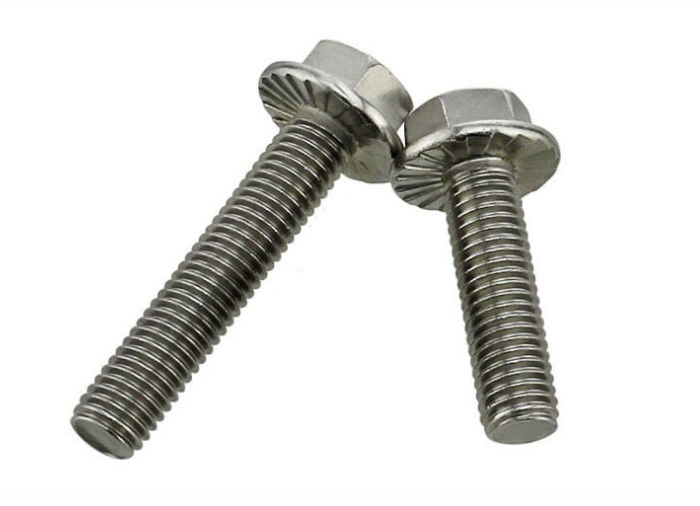 Magnetic Grade 5 Zinc Plated External Finish Hex Head Bolts Resists Loosening Metric Thread